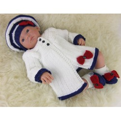 BABY CHIC MATINEE SET