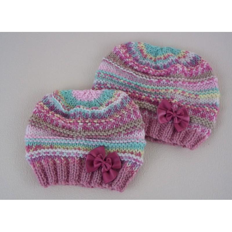 Beginners Baby Beanie knitting pattern by Precious Newborn ...