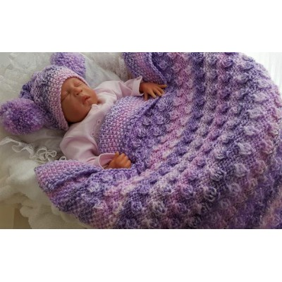 LORNA BLANKET & HAT SET